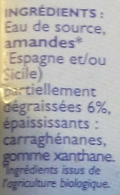 Amande Cuisine - Ingredients - fr