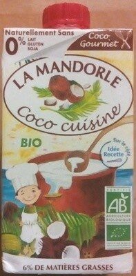 Coco cuisine (6 % MG) - Product - fr