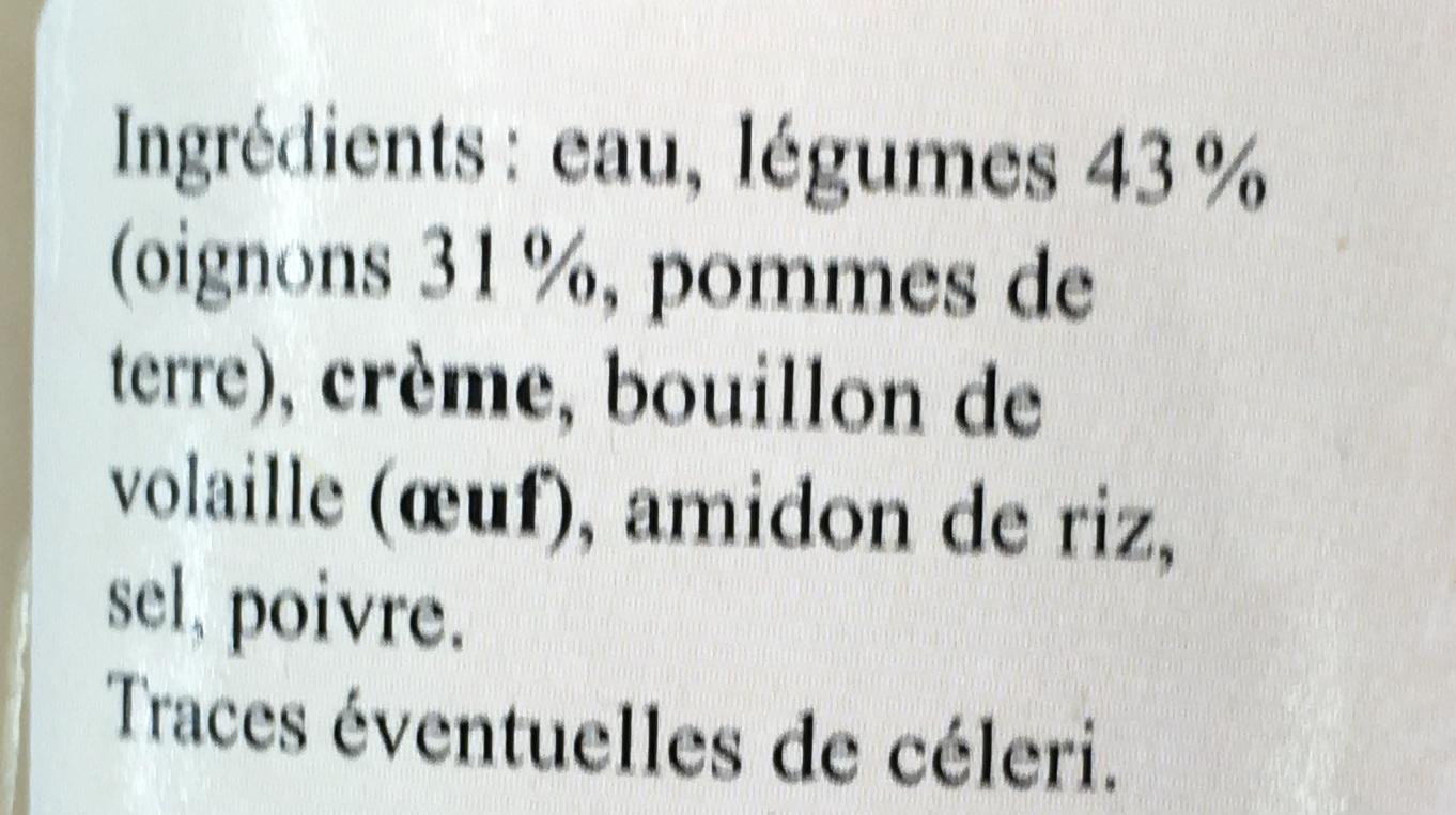 Suprême d'Oignon - Ingrédients - fr