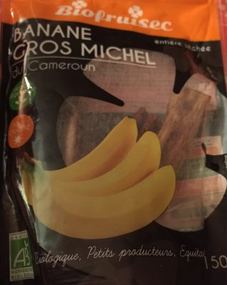 Bananes Sechees - Produit