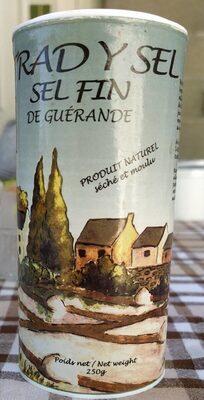 Sel fin de Guérande - Produit - fr