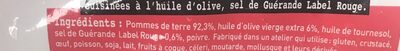 Pommesde terre grenaille - Ingredienti - fr