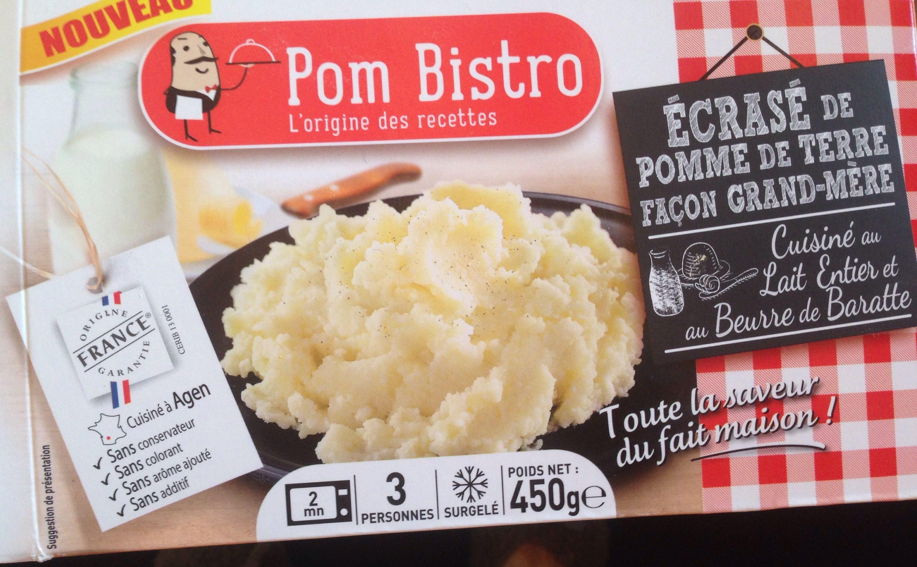 Écrase de pomme de terre façon grand mère - Produit - fr