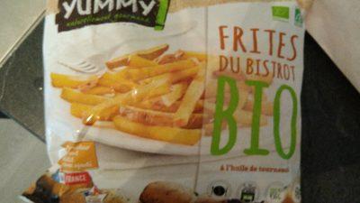 Frites du bistrot Bio à l'huile de tournesol - Produit