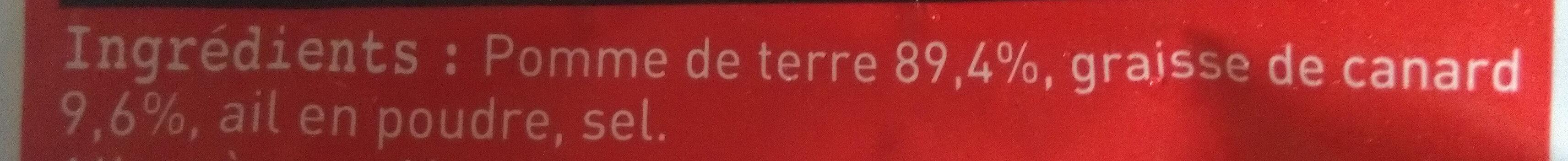 Rissolées du sud ouest - Ingrediënten - fr