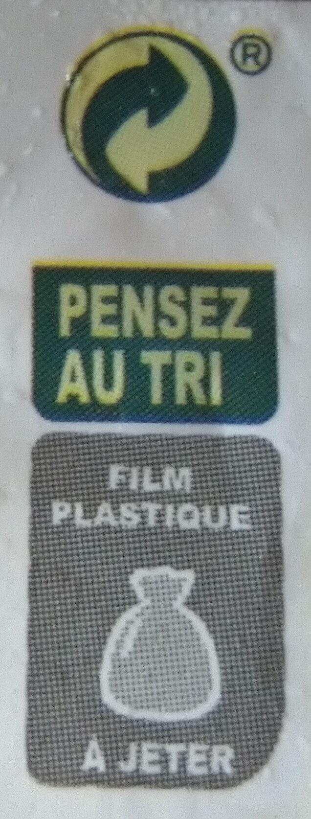 Rissolées du sud ouest - Recyclinginstructies en / of verpakkingsinformatie - fr