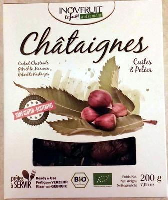 Châtaignes cuites & pelées - Produit - fr