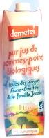 Pur jus de pommes-poires biologiques - Produit - fr