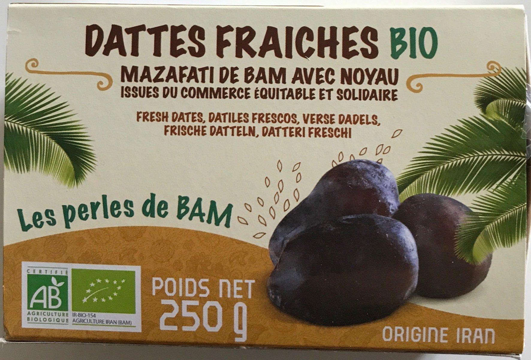 Dattes fraîches bio - Product
