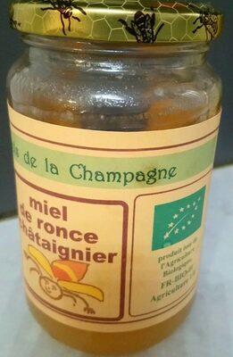 Miel de ronce châtaigner - Produit - fr