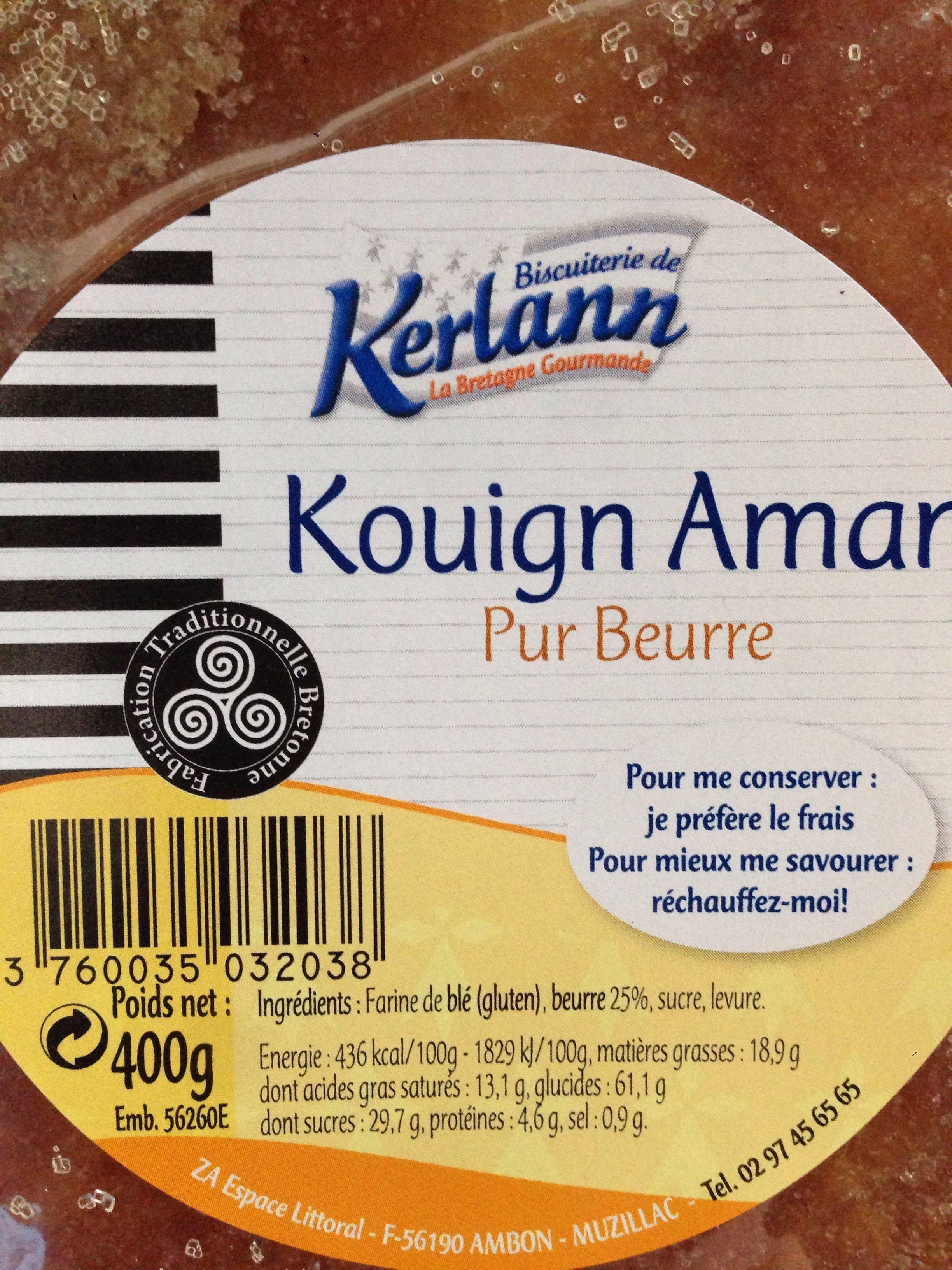 Kouign Aman Pur Beurre - Product - fr