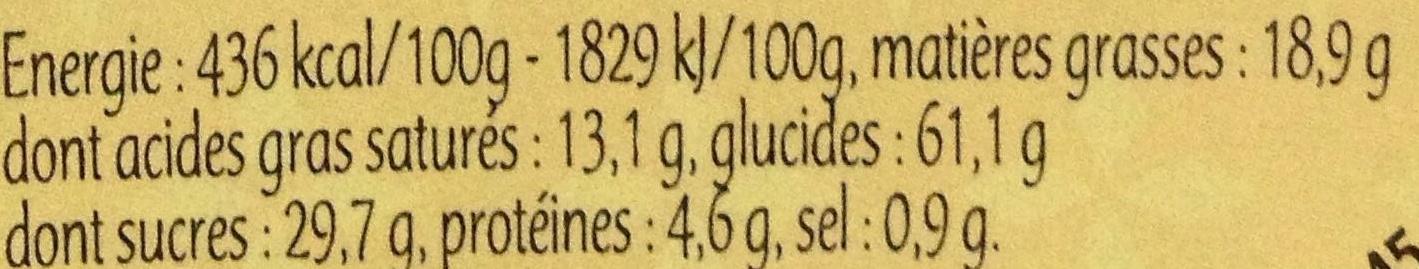 Kouign Aman Pur Beurre - Nutrition facts - fr
