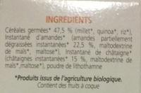 Céréadej - Ingrediënten - fr