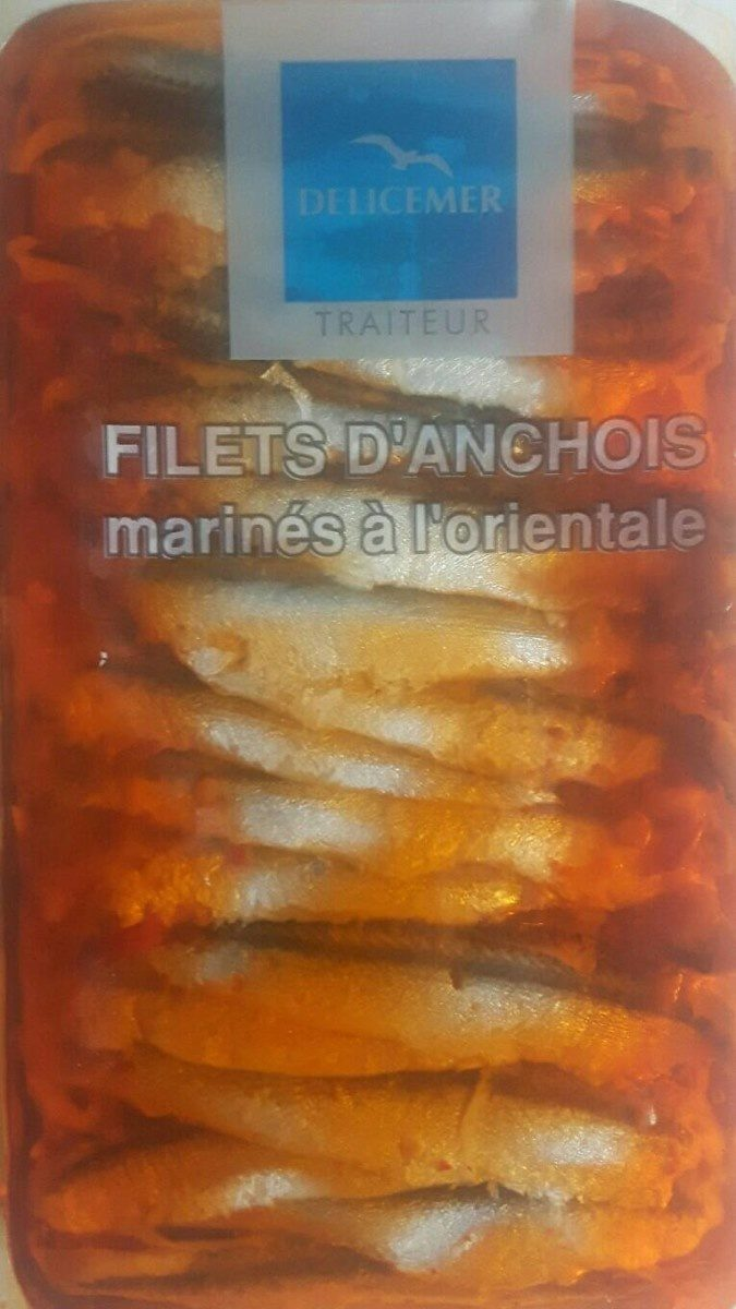 Filets d'anchois marinés à l'orientale - Product - fr