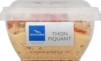 Tartinable thon piquant - Product - fr