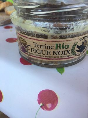 TERRINE FIGUE NOIX BIO 110G - Product - fr