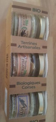 Terrines artisanales biologiques corses - Prodotto - fr