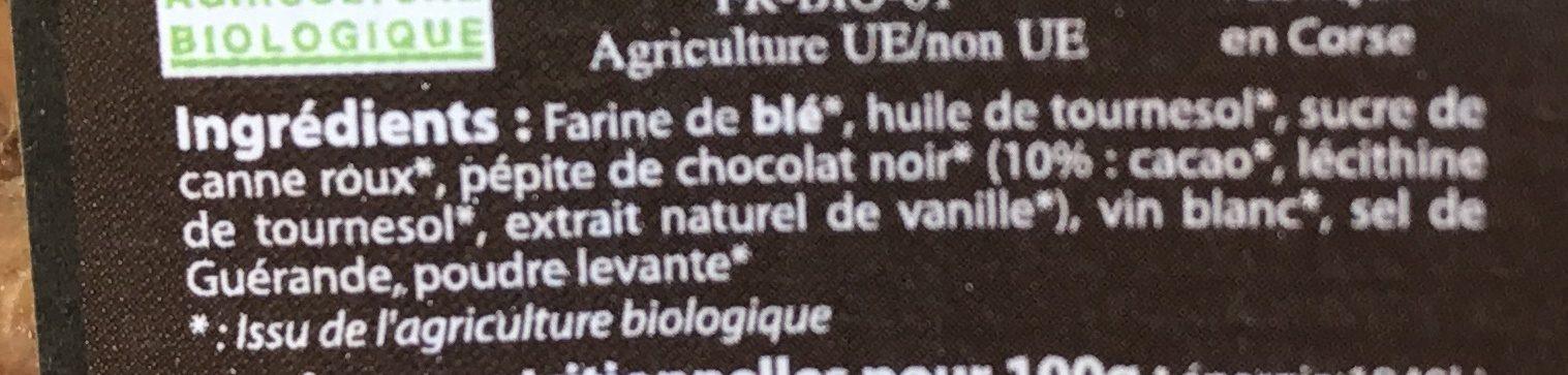 Canistrelli - Ingrediënten
