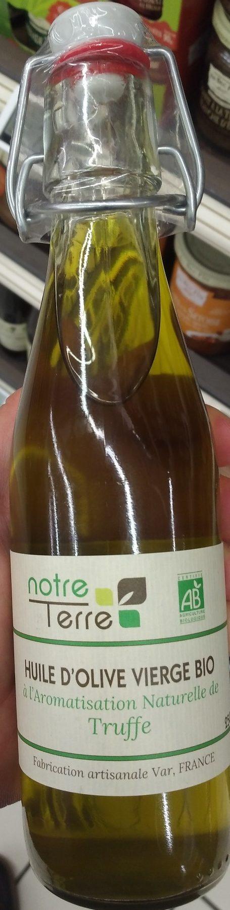 Huile d'Olive Vierge Bio Aromatisation Naturelle de Truffe - Produkt - fr