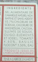 Sel de camargue - Ingrédients - fr