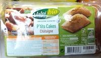 P'tits cakes châtaigne - Produit