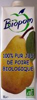 100 % Pur Jus de Poire Biologique - Prodotto - fr