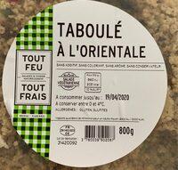 Taboule a l'orientale - Prodotto - fr