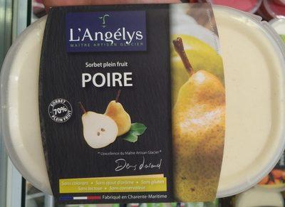 750ML Sorbet Poire Angelys - Product - fr