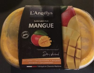 Sorbet Plein Fruit Mangue - Product