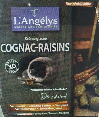 Crème glacée Cognac-Raisins - Product - fr