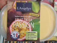 Sorbet plein fruit Fruit de la passion (45%) 750 - Produit