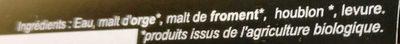 L'Enjoleuse - Ingrédients - fr
