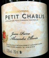 Petit Chablis 2010 - Ingredients