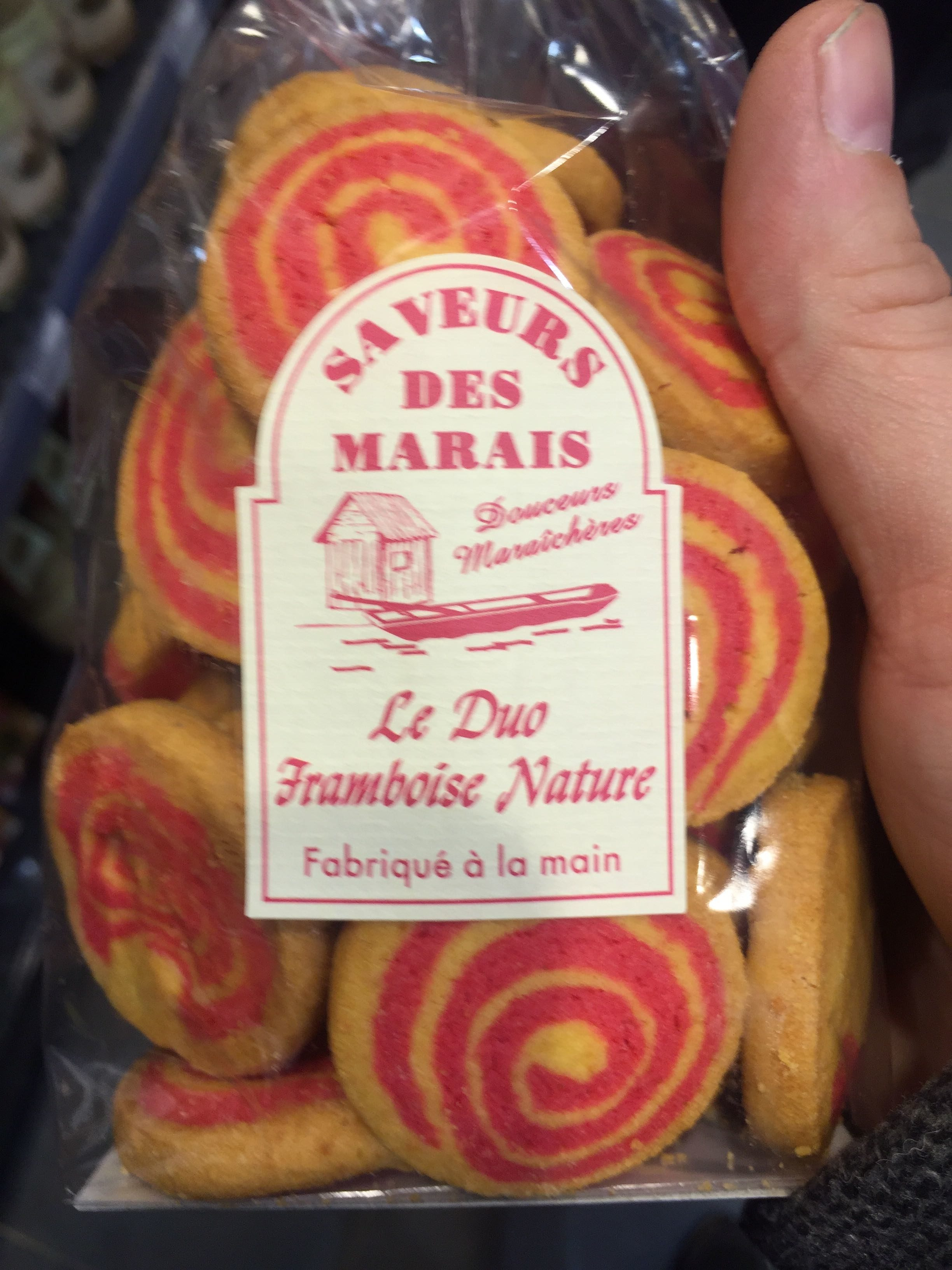 Le Duo Framboise Nature - Product