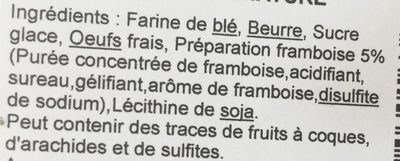 Le Duo Framboise Nature - Ingredients