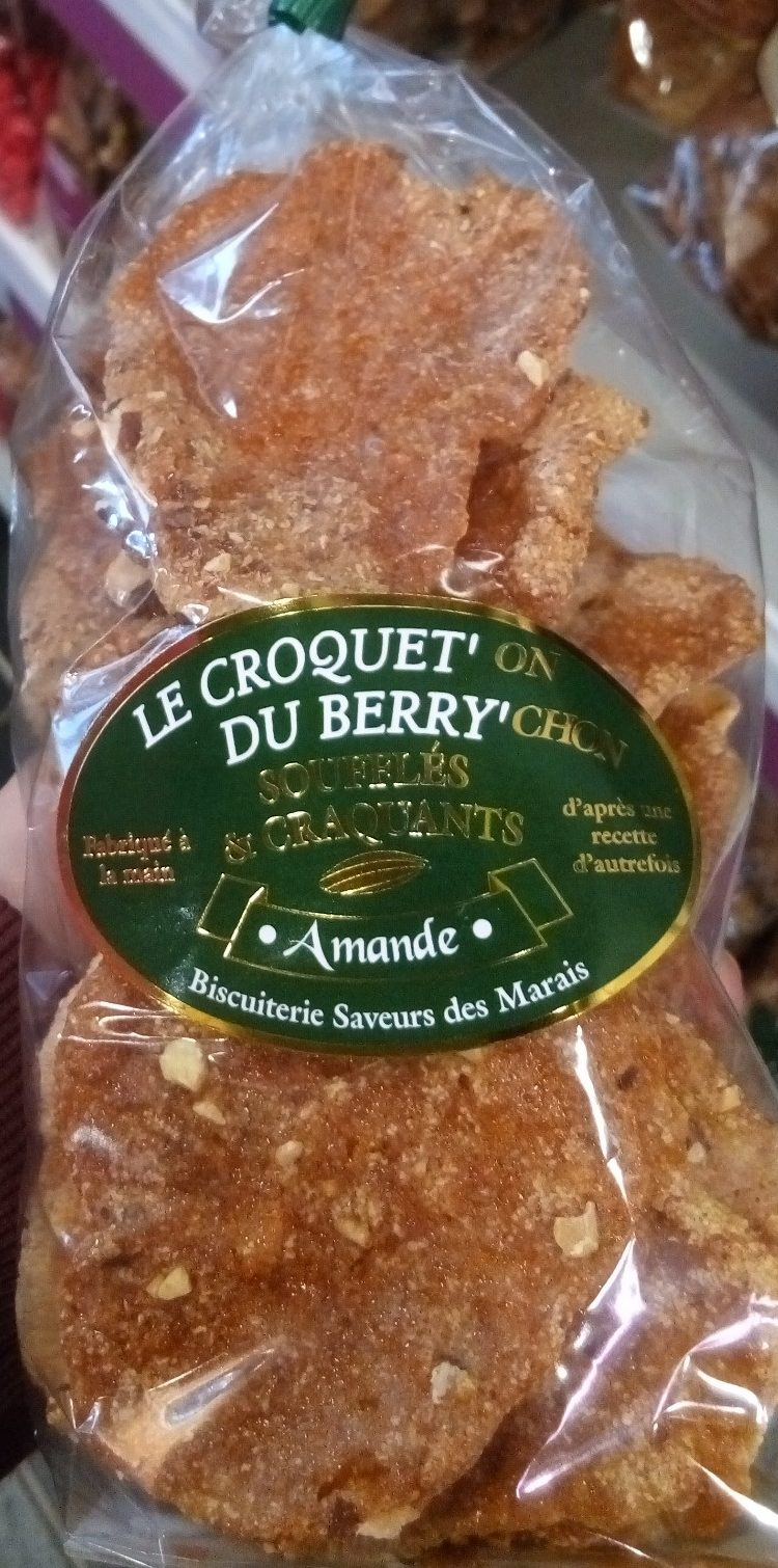 Le Croquet'on du Berry'chon Amande - Produit