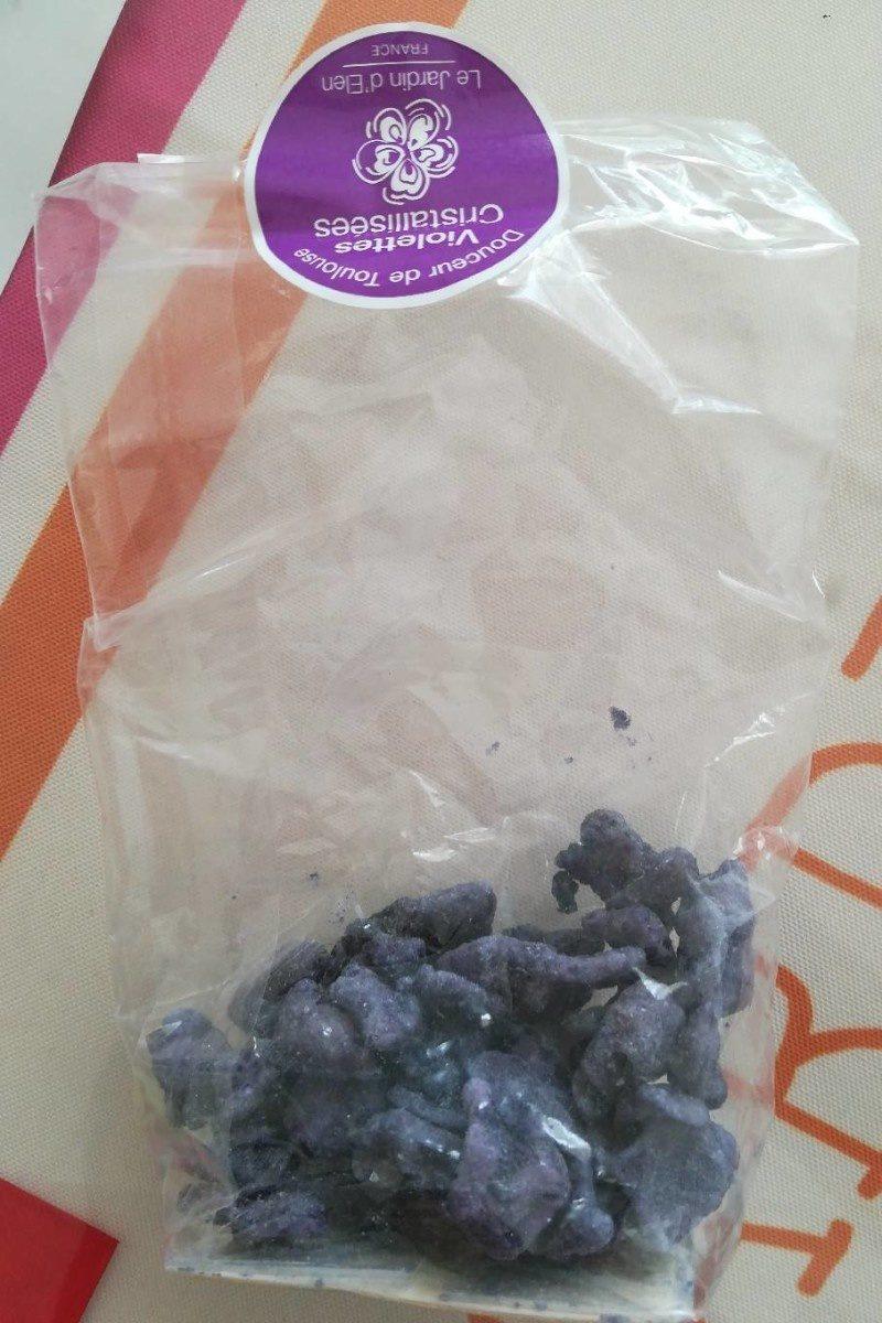 violettes cristallisées - Product
