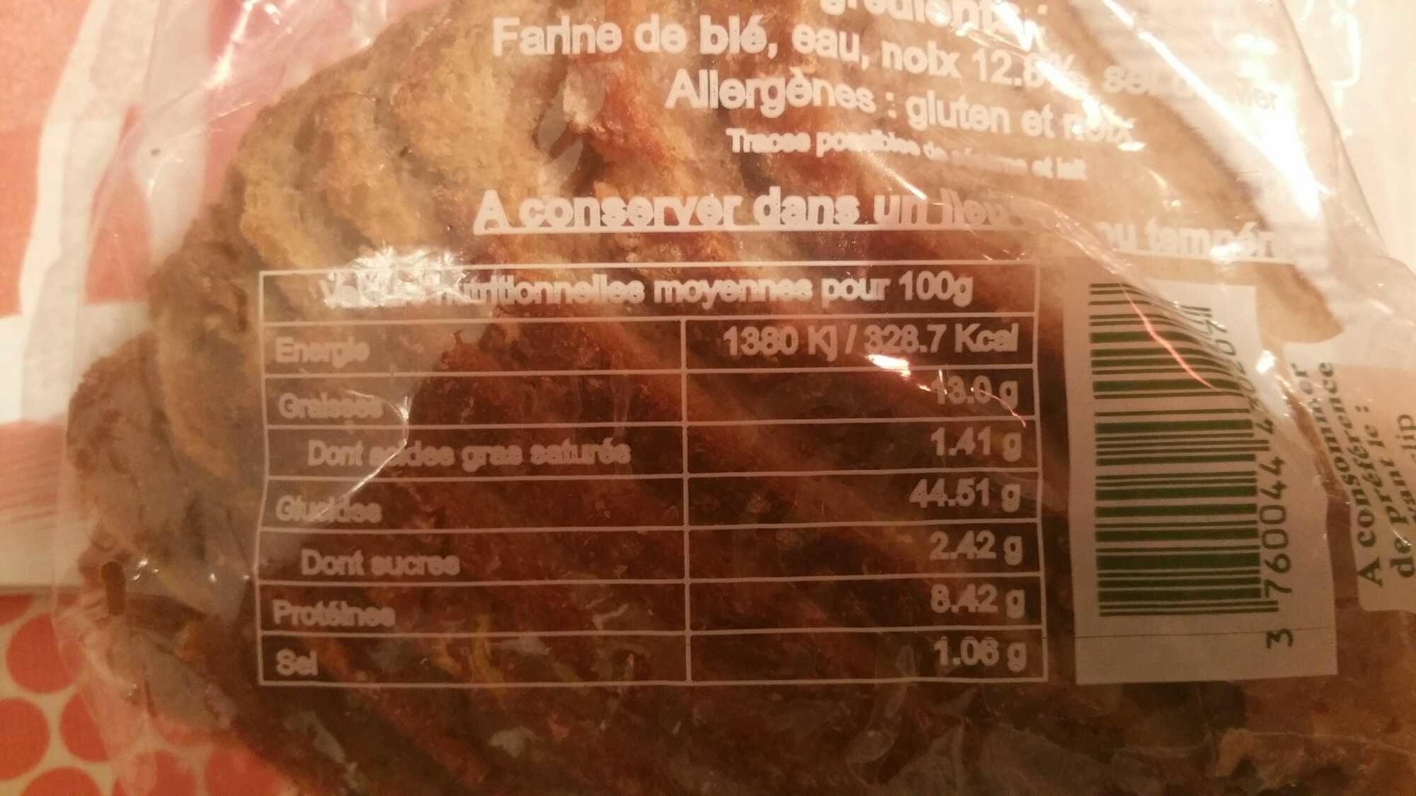 Pain aux noix - Product