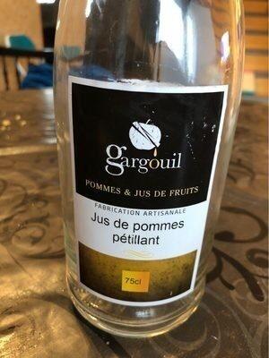 Jus de pommes pétillant - Produit - fr