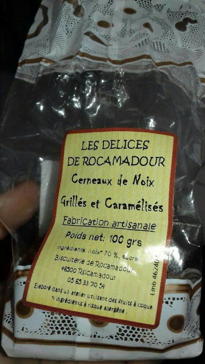 Cerneaux de noix grillées et caramélisées - Product