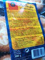 Rondas crème catalane - Produit