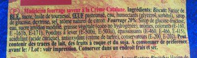 Rondas crème catalane - Ingrédients