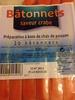 Bâtonnets saveur crabe - Product