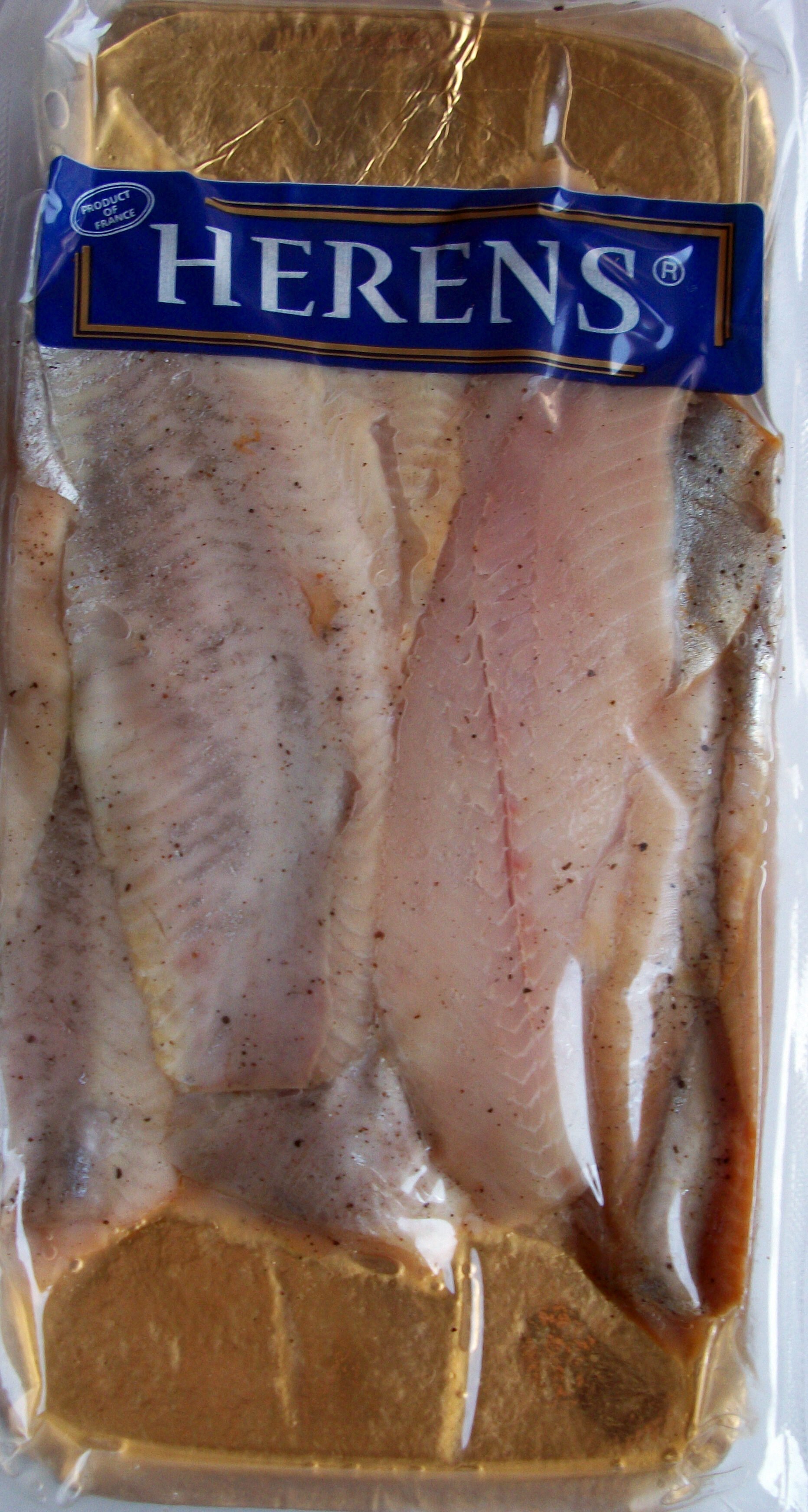 Filets de hareng fumés doux - Produit - fr