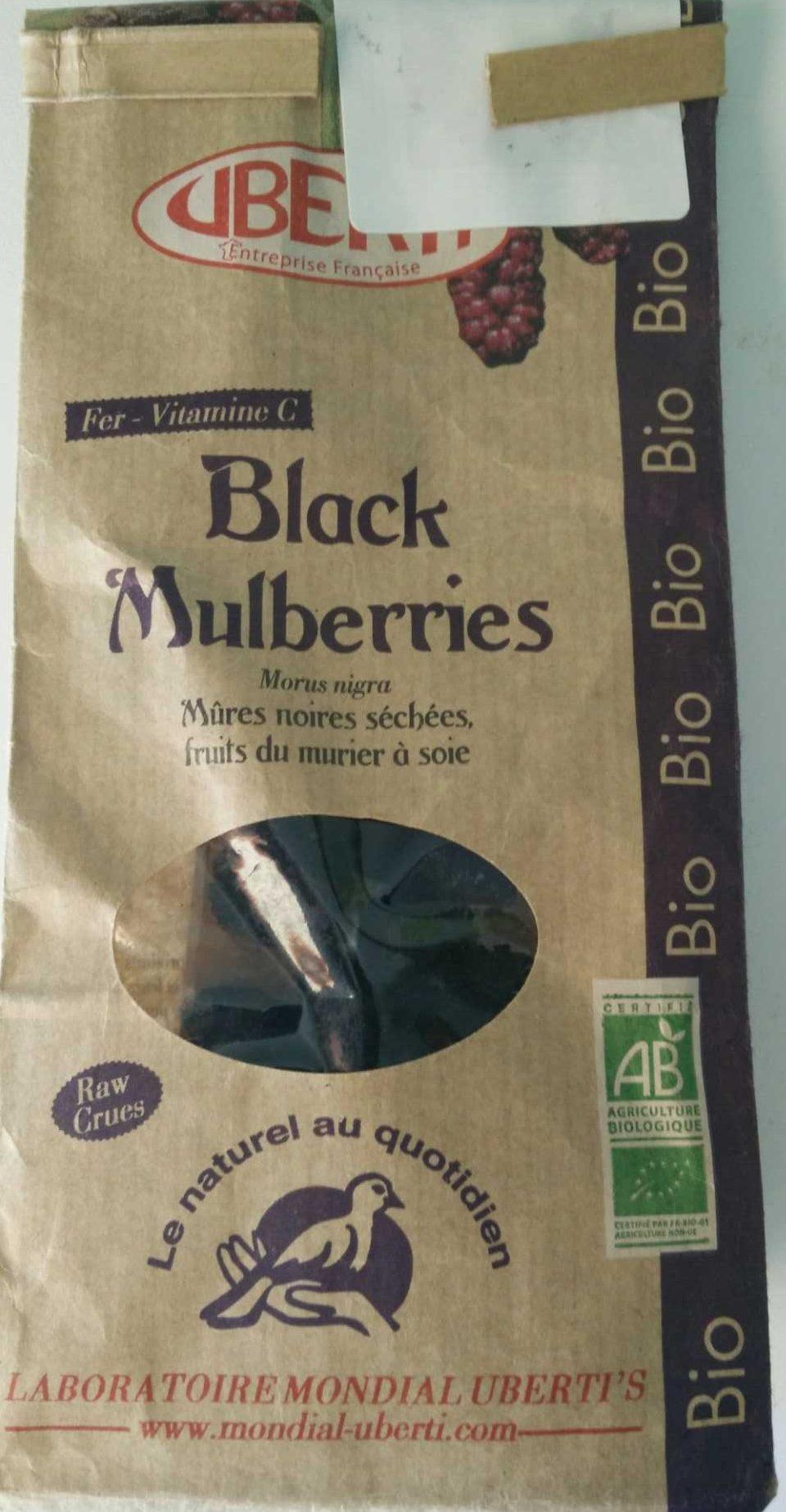 Mûres Noires - Product