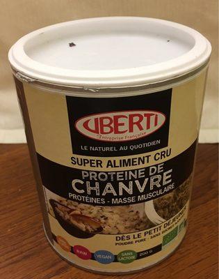 Protéine De Chanvre Cru En Poudre Bio - 200 G - Uberti - Product