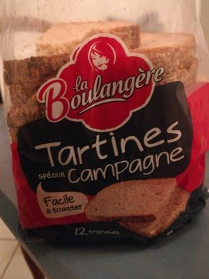 Tartines spécial campagne - Product - fr