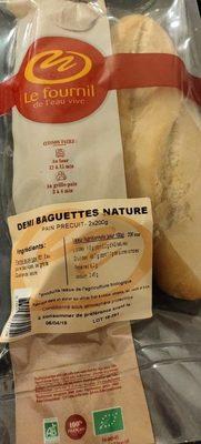 Demi baguette nature - Product