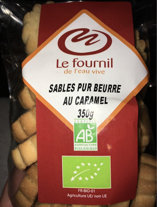 Sablés Pur Beurre au Caramel - Producto
