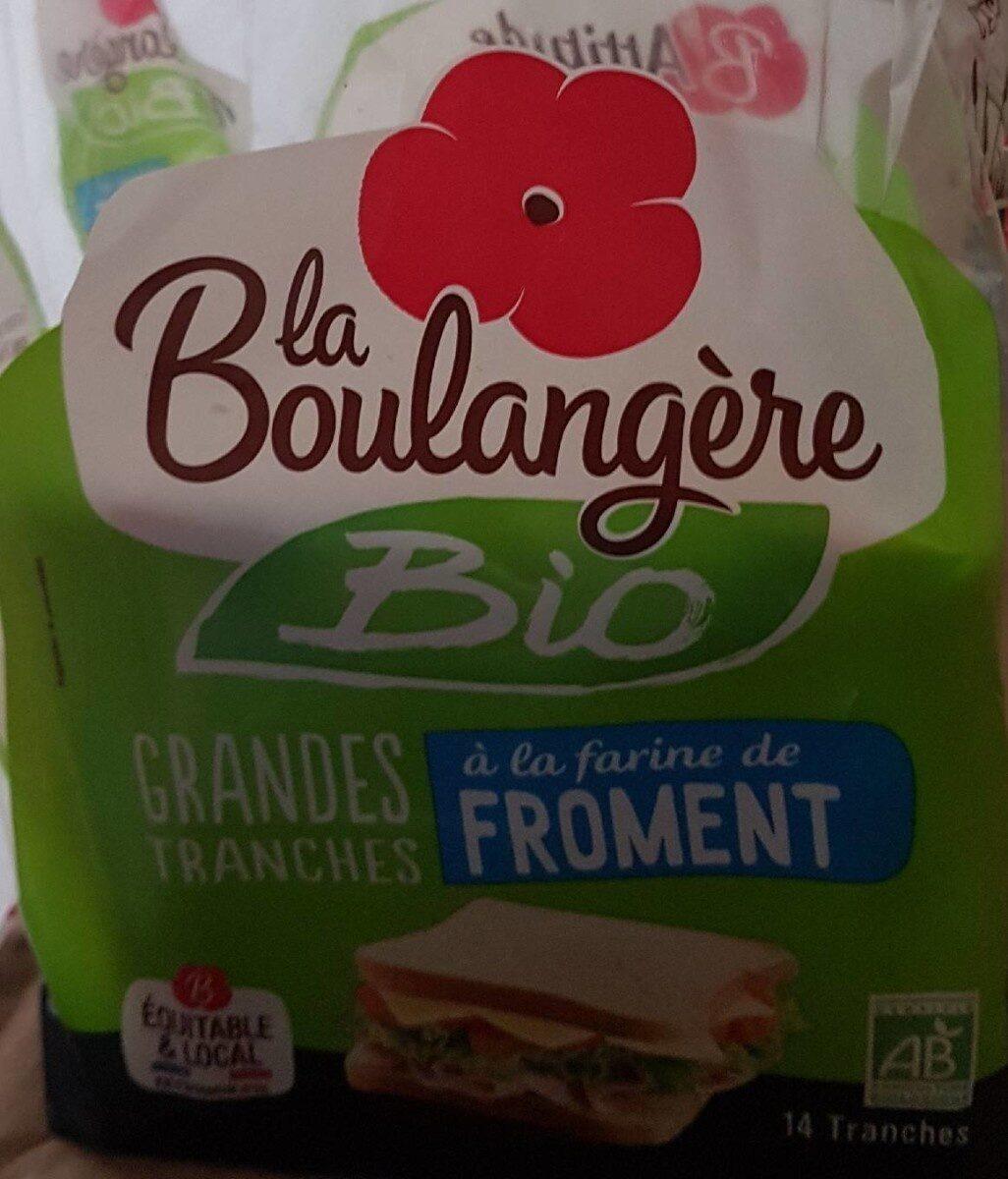 Pain de mie BIO à la farine de froment - 500g - Prodotto - fr